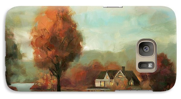 Geese Galaxy S7 Case - Autumn Memories by Steve Henderson