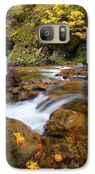 Galaxy Case featuring the photograph Autumn Moment by Mike Dawson