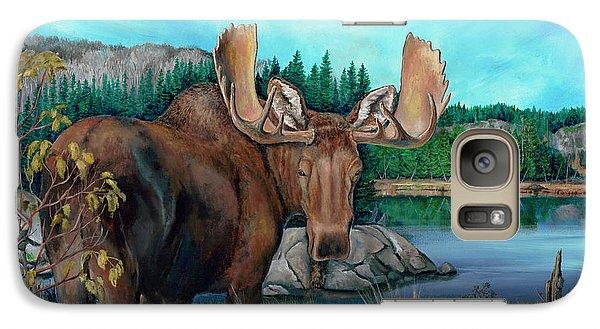 Autumn Moose Galaxy S7 Case