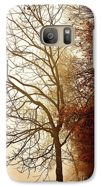 Galaxy Case featuring the photograph Autumn Morning by Stephanie Frey