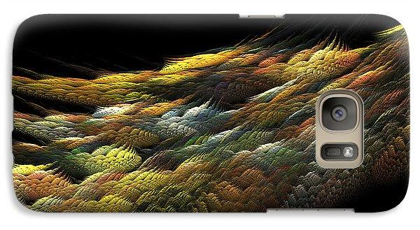 Galaxy Case featuring the digital art Autumn Nightfall by Richard Ortolano