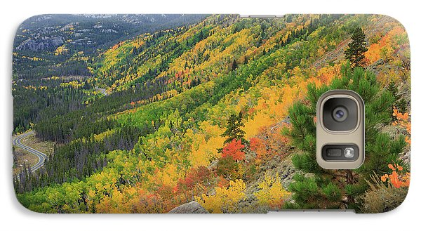 Autumn On Bierstadt Trail Galaxy S7 Case