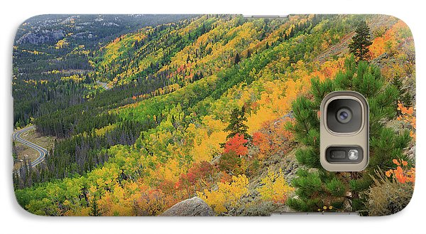 Galaxy Case featuring the photograph Autumn On Bierstadt Trail by David Chandler