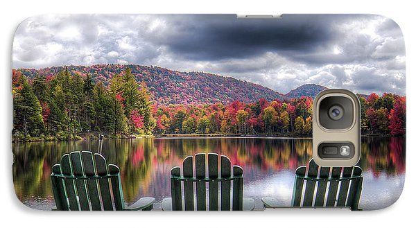 Galaxy Case featuring the photograph Autumn On West Lake by David Patterson