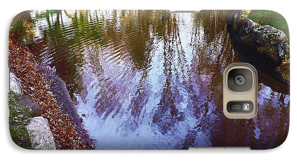 Autumn Reflection Pond Galaxy S7 Case