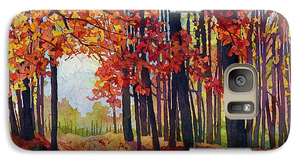 Galaxy Case featuring the painting Autumn Rapture by Hailey E Herrera