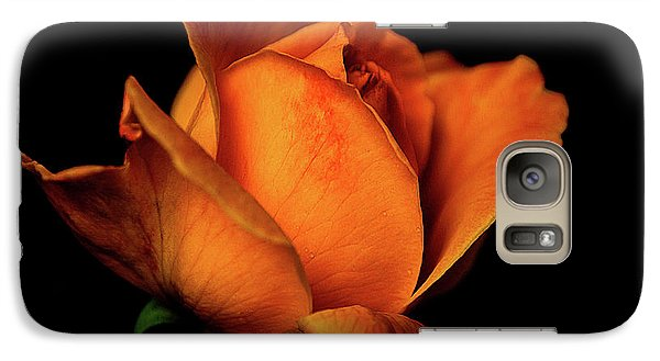 Galaxy Case featuring the photograph Autumn Rose by Julie Palencia