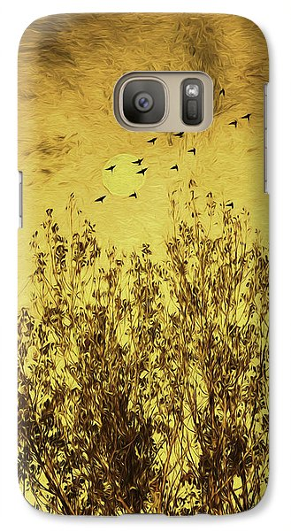Galaxy Case featuring the photograph Autumn Song by Diane Schuster