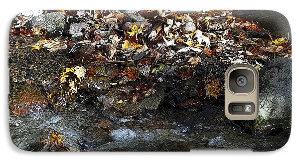 Galaxy Case featuring the drawing Autumn Soup by Diane E Berry