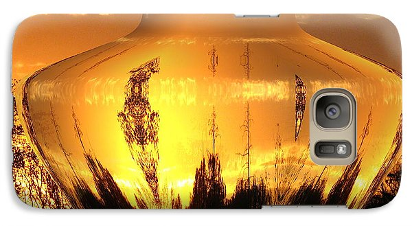Galaxy Case featuring the photograph Autumn Spirits by Joyce Dickens