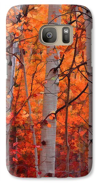 Galaxy Case featuring the photograph Autumn Splendor by Don Schwartz