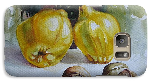 Galaxy Case featuring the painting Autumn Still Life 2 by Elena Oleniuc