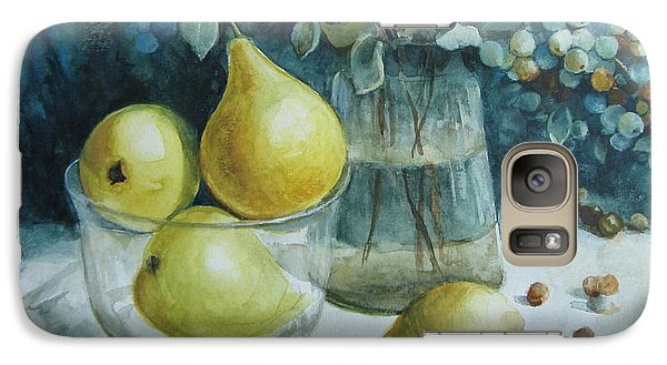 Galaxy Case featuring the painting Autumn Still Life 3 by Elena Oleniuc