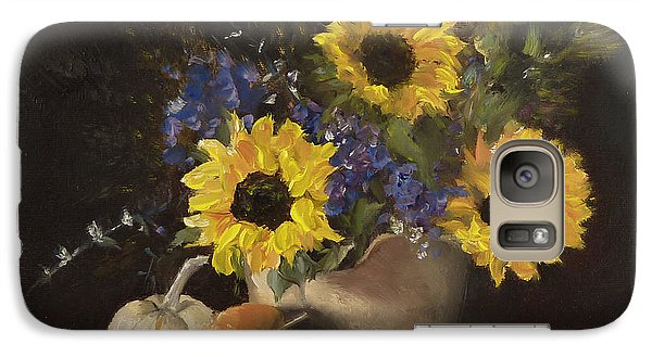 Galaxy Case featuring the painting Autumn Still by Lori Ippolito