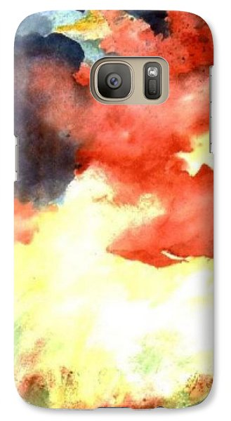 Galaxy Case featuring the painting Autumn Storm by Andrew Gillette