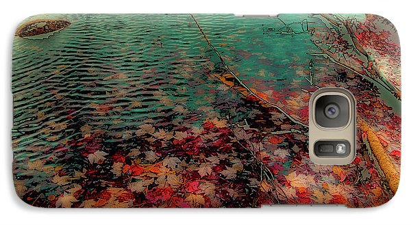 Galaxy Case featuring the photograph Autumn Submerged by David Patterson