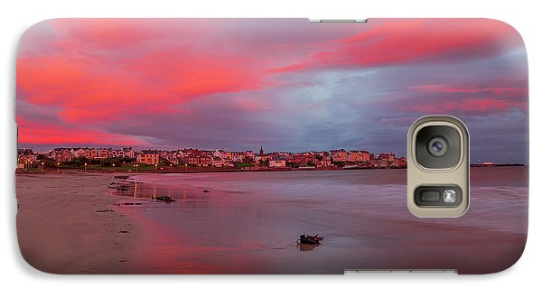 Galaxy Case featuring the photograph Autumn Sunrise by Roy McPeak