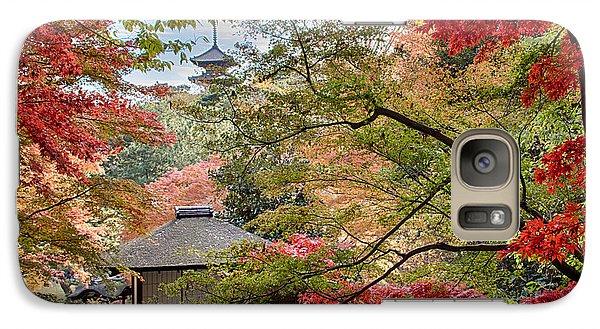 Galaxy Case featuring the photograph Autumn  by Tad Kanazaki