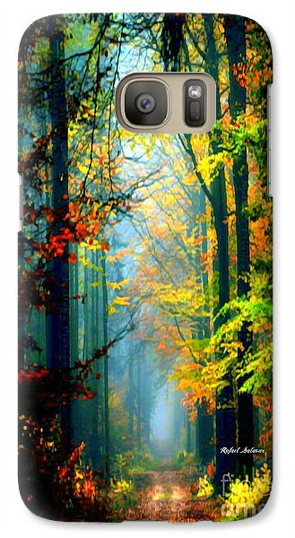 Autumn Trails In Georgia Galaxy S7 Case
