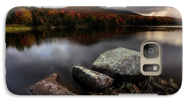 Galaxy Case featuring the photograph Autumn Visit by Mike Lang