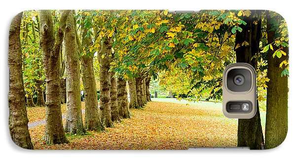 Galaxy Case featuring the photograph Autumn Walk by Colin Rayner