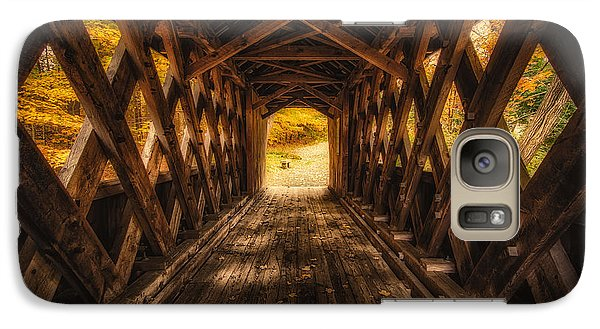Galaxy Case featuring the photograph Autumn Walk by Robert Clifford