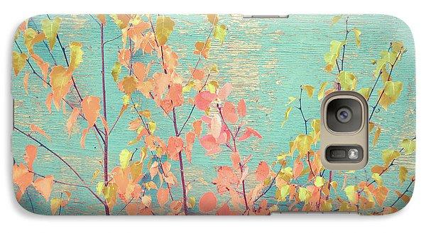 Galaxy Case featuring the photograph Autumn Wall by Ari Salmela