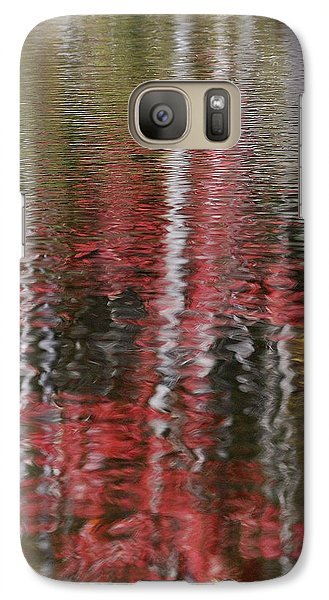 Galaxy Case featuring the photograph Autumn Water Color by Susan Capuano