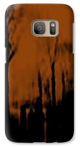 Galaxy Case featuring the digital art Autumn Wet Day by Dr Loifer Vladimir