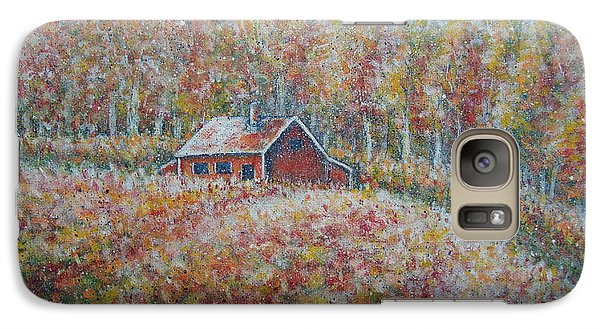 Galaxy Case featuring the painting Autumn Whisper. by Natalie Holland