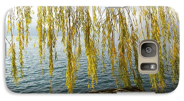 Galaxy Case featuring the photograph Autumn Willow by Colleen Williams