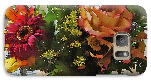 Galaxy Case featuring the photograph Autumn Window by Betsy Zimmerli