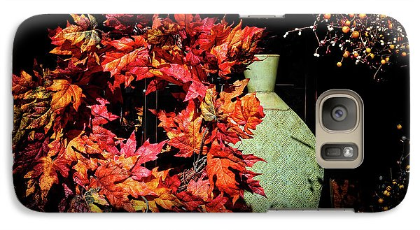 Galaxy Case featuring the photograph Thanksgiving Wreath by Charline Xia