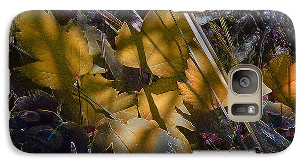 Galaxy Case featuring the digital art Autumn Yellow by Stuart Turnbull