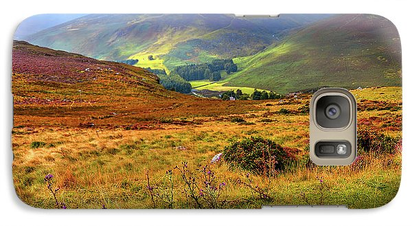 Galaxy Case featuring the photograph Autumnal Hills. Wicklow. Ireland by Jenny Rainbow