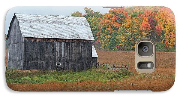 Galaxy Case featuring the photograph Autumnal.. by Nina Stavlund