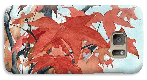Galaxy Case featuring the painting Autumn's Artistry by Barbara Jewell