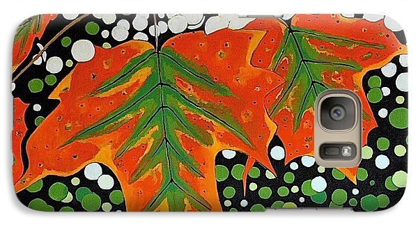 Galaxy Case featuring the painting Autumns Kiss by Kathleen Sartoris
