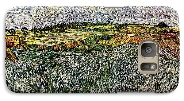 Galaxy Case featuring the painting Landscape Auvers28 by Pemaro