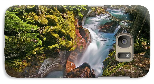 Galaxy Case featuring the photograph Avalanche Gorge by Gary Lengyel