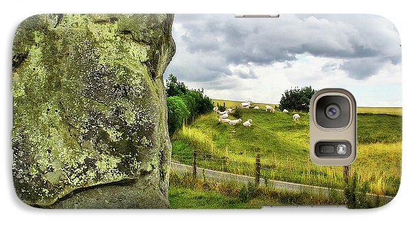 Avebury Standing Stone And Sheep Galaxy S7 Case