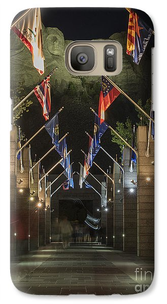 Avenue Of Flags Galaxy S7 Case