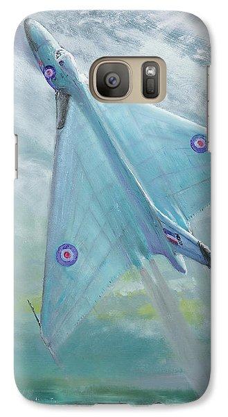 Avro Vulcan B1 Night Flight Galaxy S7 Case by Vincent Alexander Booth