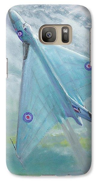 Avro Vulcan B1 Night Flight Galaxy Case by Vincent Alexander Booth
