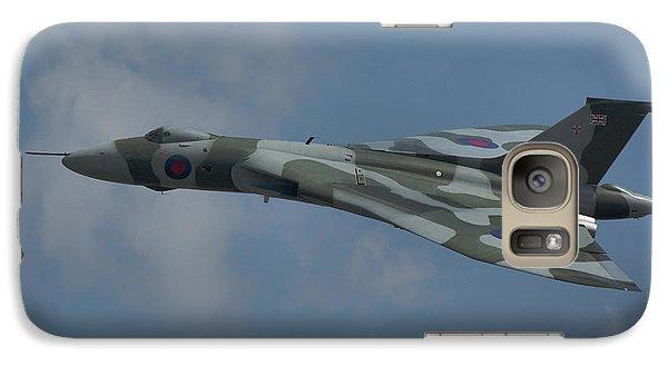 Galaxy Case featuring the photograph Avro Vulcan B2 Xh558 by Tim Beach