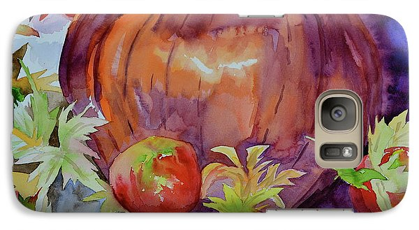 Galaxy Case featuring the painting Awaiting by Beverley Harper Tinsley