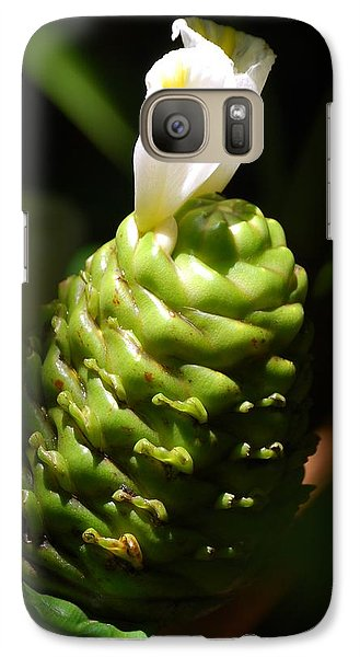 Galaxy Case featuring the photograph Awapuhi Plant by Debbie Karnes