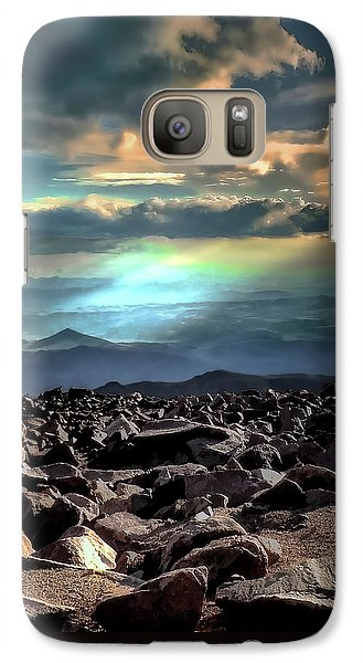 Galaxy Case featuring the photograph Awareness ... by Jim Hill