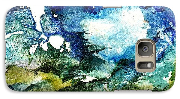 Galaxy Case featuring the painting Away by Anne Duke