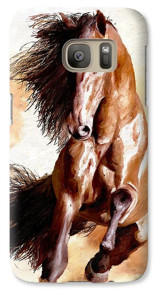 Galaxy Case featuring the painting Away The Lad by James Shepherd